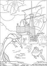 La Sirenita Ariel para colorear (11/16)
