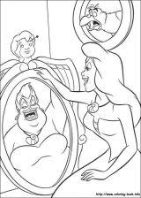 La Sirenita Ariel para colorear (13/16)