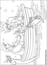 Dibujos de Ariel para colorear (1/12)