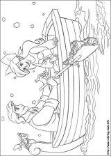 Dibujos de Ariel para colorear (2/12)