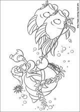 Dibujos de Ariel para colorear (5/12)