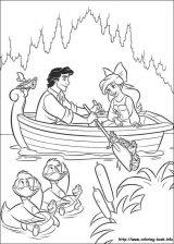 Dibujos de Ariel para colorear (8/12)