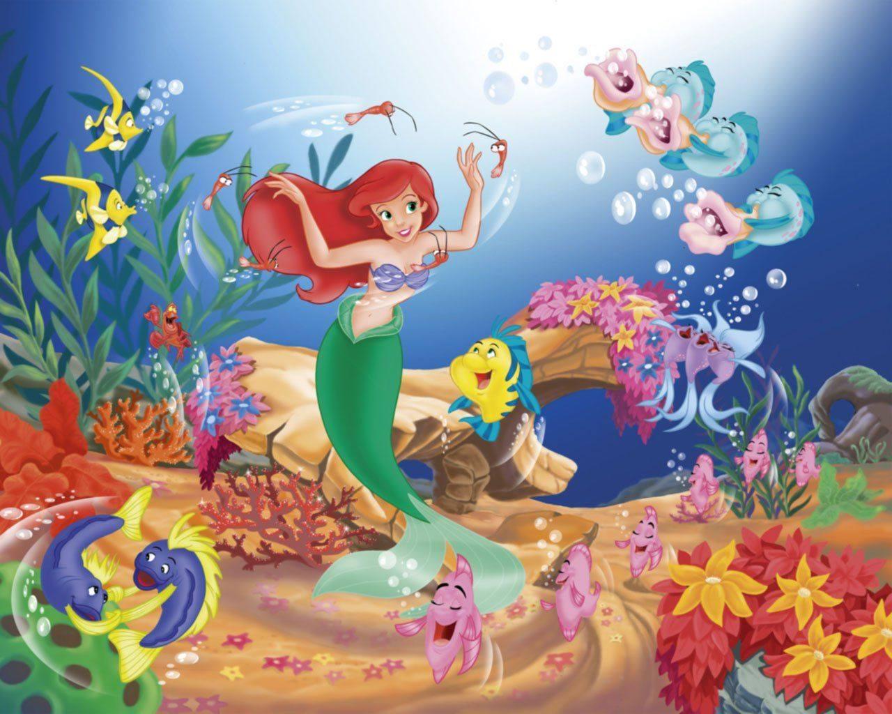 Ariel La Sirenita Para Colorear Para Dibujos De La: La Sirenita Para Colorear【2019 】Dibujos De La SIRENITA