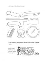 Útiles de aseo para colorear (68/76)