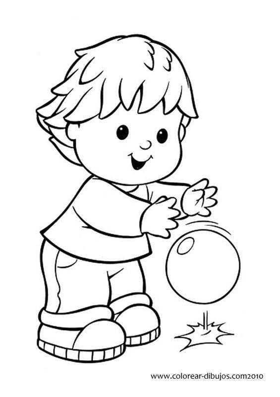 útiles De Aseo Para Colorear Dibujos Para Colorear E