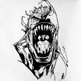 Venom para colorear (4/7)