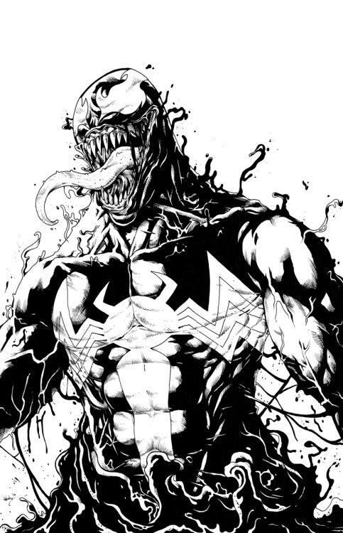 Venom para colorear 2019 | La mejor colección de dibujos de Venom